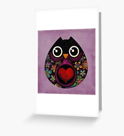Owl's Hatch Greeting Card