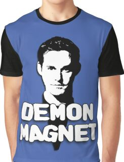 XANDER HARRIS: Demon Magnet Graphic T-Shirt