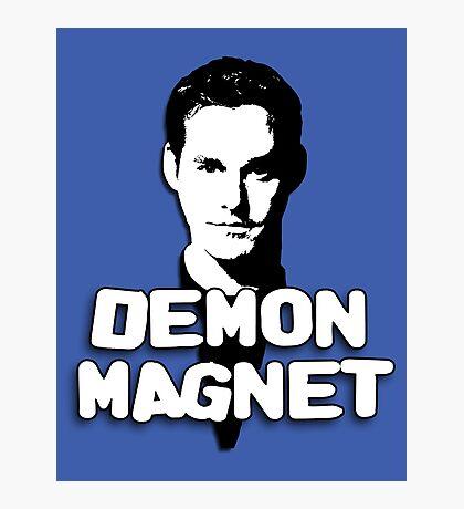 XANDER HARRIS: Demon Magnet Photographic Print