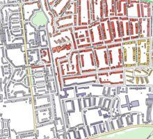 Multiple Deprivation West Putney ward, Wandsworth Sticker