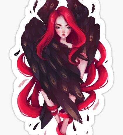 Black Wings Sticker