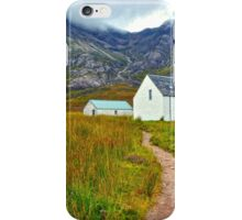 Highland Cottage, Glencoe,Scotland iPhone Case/Skin