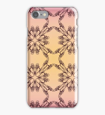 Mandala vintage ethnic Oriental pattern. Motifs texture can be used for printing onto fabric, paper and subject. iPhone Case/Skin