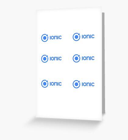 Ionic Greeting Card