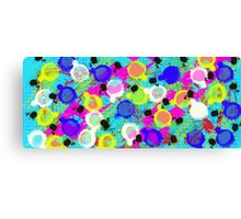 Dotty Rainbow Canvas Print