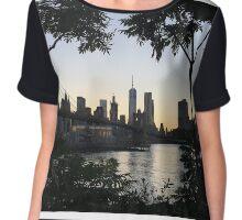 Brooklyn view of New York Chiffon Top