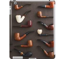 Collection of pipes iPad Case/Skin