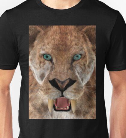 Saber Toothed Ttiger or Smilodon Unisex T-Shirt