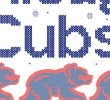 Chicago Cubs - Ugly Christmas Sweater Sticker