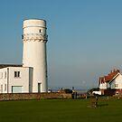 Hunstanton Lighthouse, Norfolk, UK by John Edwards