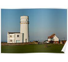 Hunstanton Lighthouse, Norfolk, UK Poster