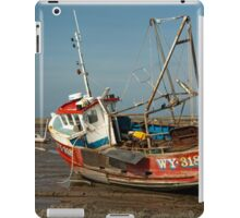 Whitby Crest at Brancaster Staithe iPad Case/Skin