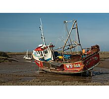 Whitby Crest at Brancaster Staithe Photographic Print