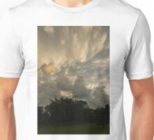 Sky Painting - Mammatus Clouds After A Storm Unisex T-Shirt