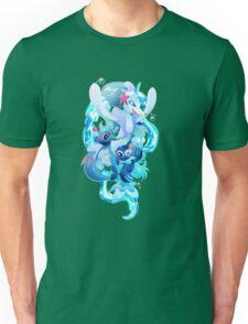 Popplio, Brionne and Primarina Unisex T-Shirt