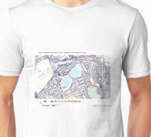 Multiple Deprivation Woodberry Down ward, Haringey Unisex T-Shirt