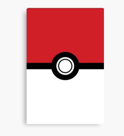 Pokemon - Poke Ball Canvas Print