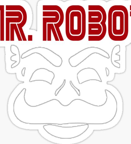Mr robot f society Sticker