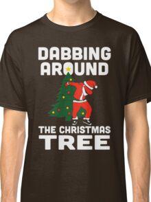 Dabbing Around The Christmas Tree Classic T-Shirt