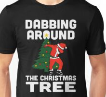 Dabbing Around The Christmas Tree Unisex T-Shirt