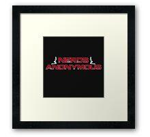 Nerds Anonymous Framed Print