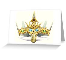 The Crown of Secrets Greeting Card