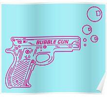 Colt .22 Automatic Bubble Gun Poster
