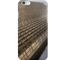 Gold and Gray - a Vertical View iPhone Case/Skin