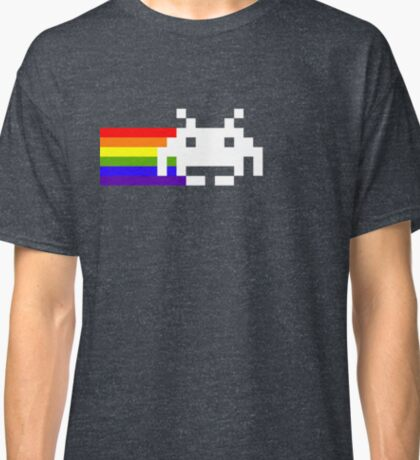 Nyan Space Invader  Classic T-Shirt