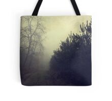 Drowning in the fog Tote Bag