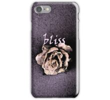 Bliss by Nikki Ellina iPhone Case/Skin