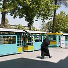 Chahar Bagh bus stop by Marjolein Katsma