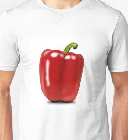Eat food fruit pepper pimiento vegetables Unisex T-Shirt