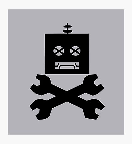 Robot-Pirates!  Photographic Print