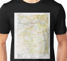 USGS TOPO Map California CA Wallace 102384 1962 24000 geo Unisex T-Shirt