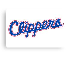 L A Clippers Canvas Print