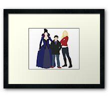 Swan Mills Family Framed Print