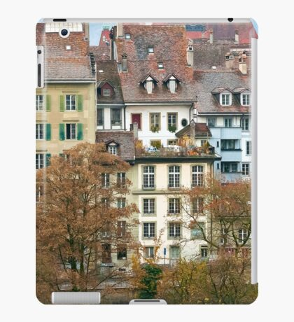 Bern Buildings iPad Case/Skin