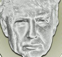 President Donald Trump Sticker