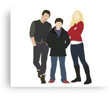 Swanfire Family Canvas Print