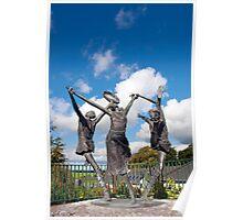 children of lir statues Poster