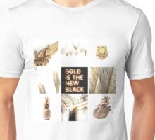 Aesthetic: Gold Unisex T-Shirt