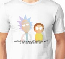 Sometimes science is more art than science Unisex T-Shirt