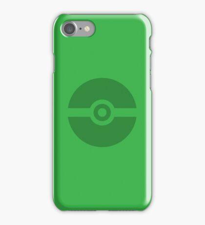Pokeball Green iPhone Case/Skin