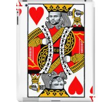 Tony Parker, King of Hearts  iPad Case/Skin