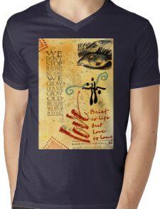 Growing Up Gracefully T-Shirt Mens V-Neck T-Shirt