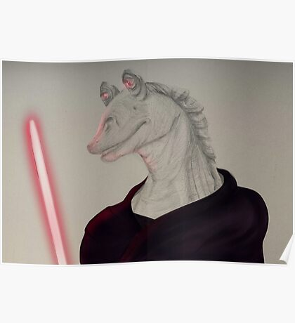 Darth Jar Jar Poster