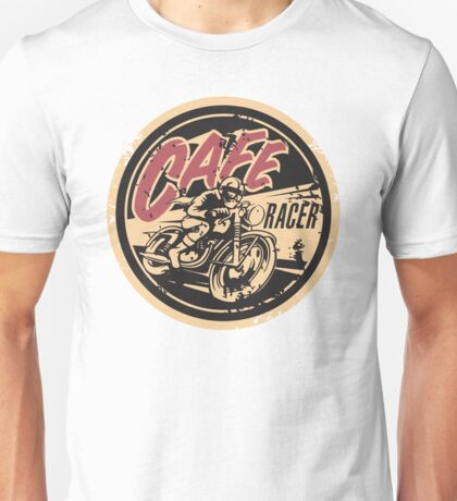 The Official Cafe Racer TV Logo Unisex T-Shirt
