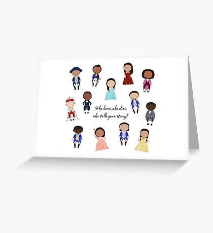 Hamilcast Greeting Card