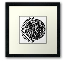 Original Sun and Moon  Framed Print